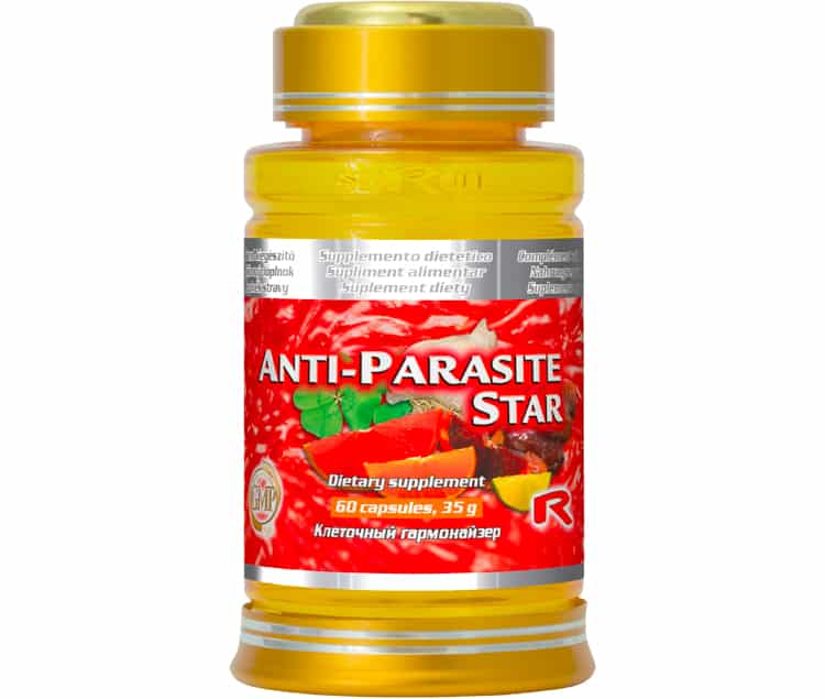 anti parasite star 60 kapslí