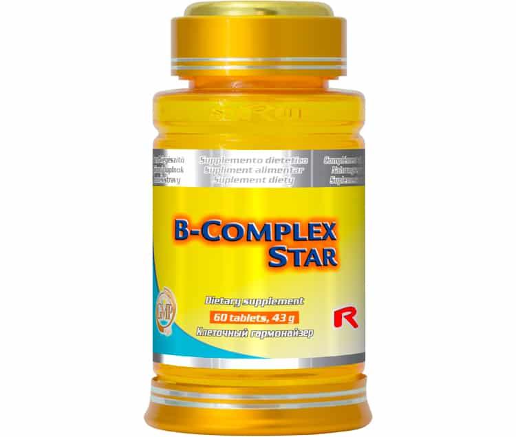 b-complex star 60 kapslí