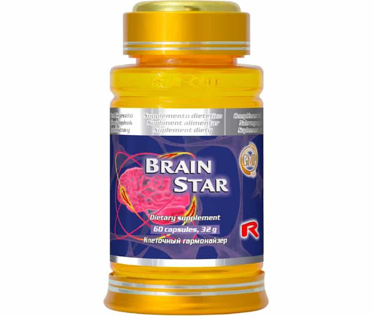 brain star 60 kapslí