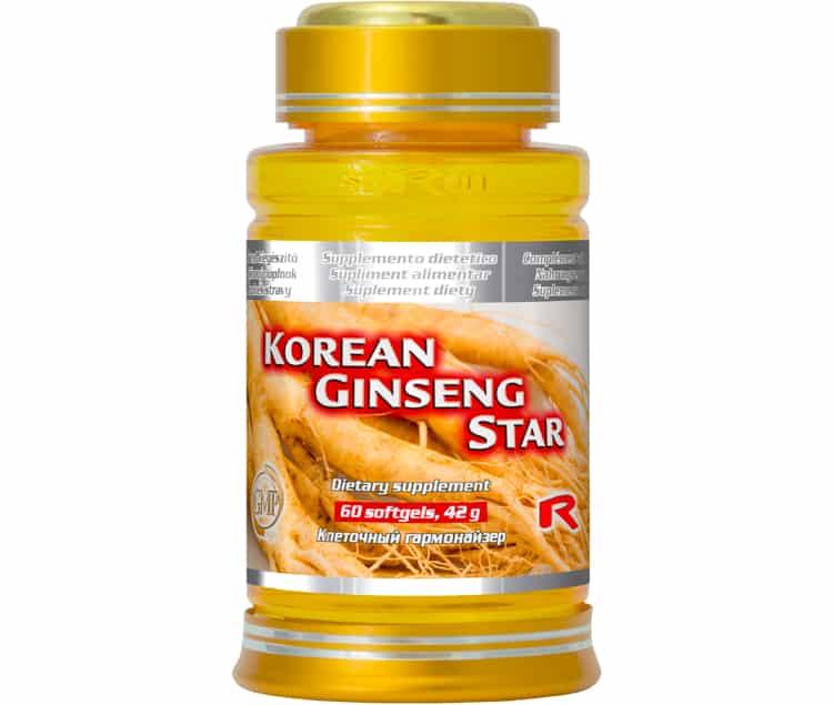 korean ginseng star 60 kapslí