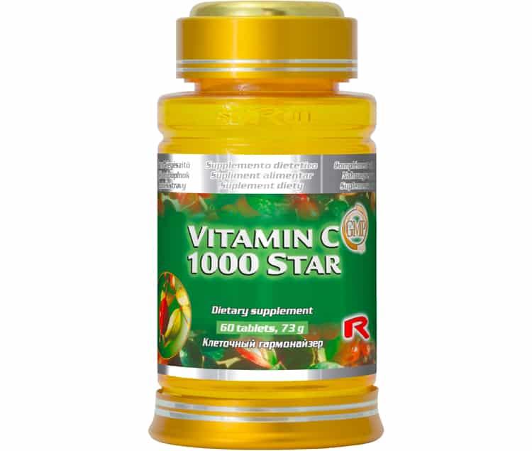 vitamin c 1000 star 60 kapslí
