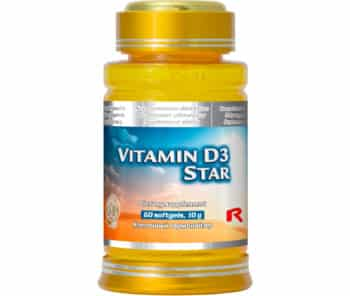 vitamin d3 star 60 kapslí