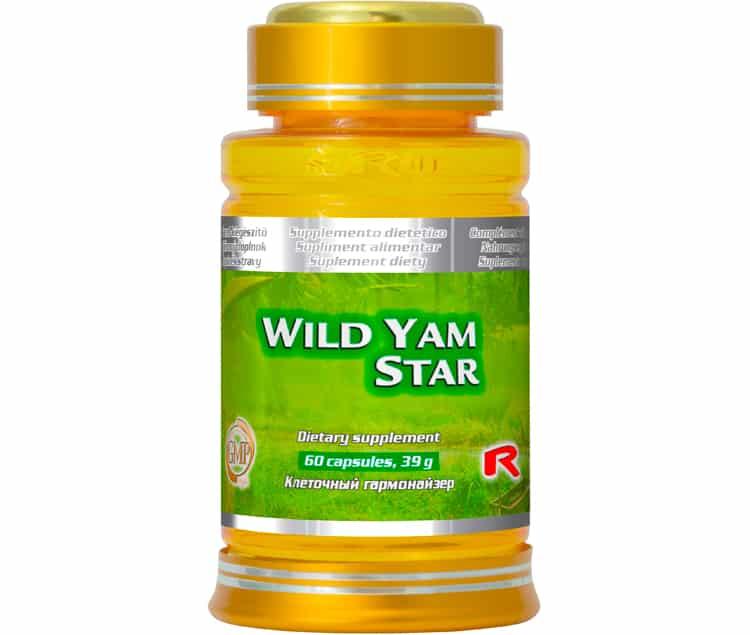 wild yam star 60 kapslí