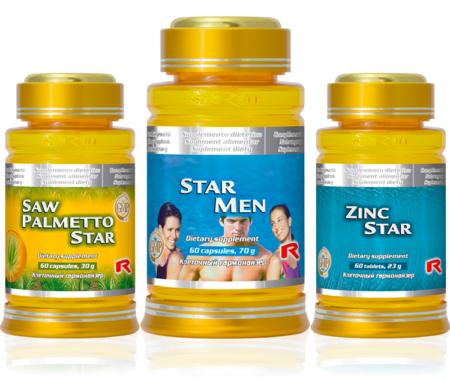Králova chvilka (star men, saw palmetto star, zinc star)