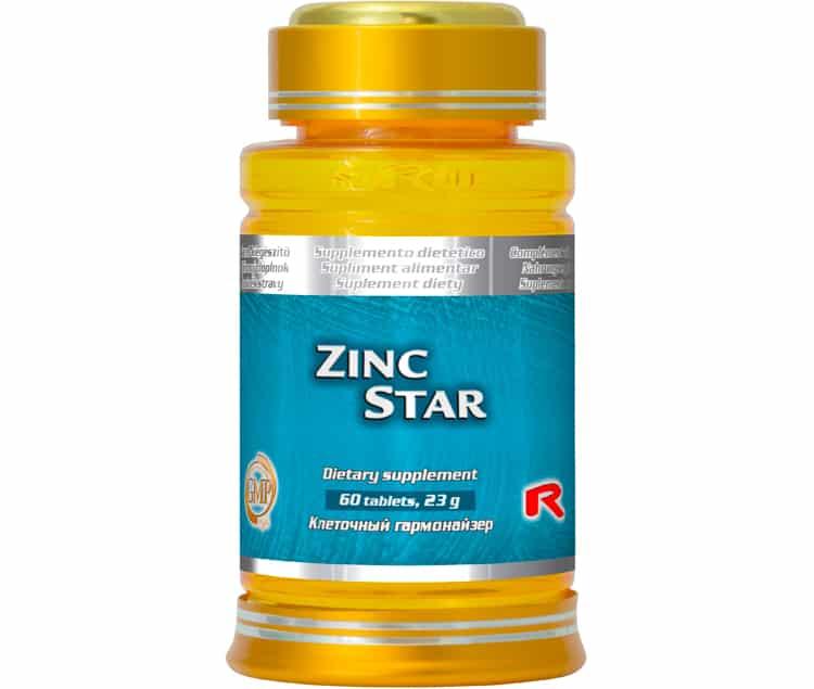 zinc star 60 kapslí