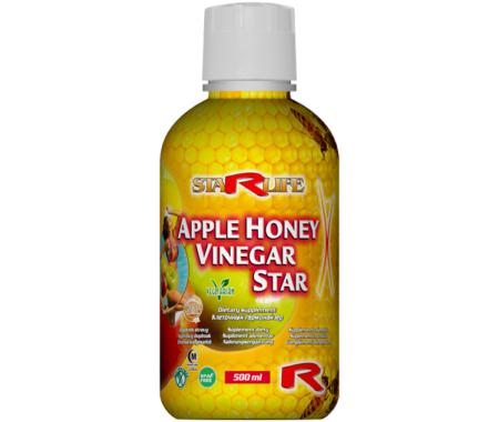 apple honey vinegar star