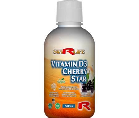vitamin D3 cherry star