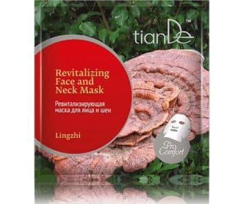 Maska s houbou LingZhi